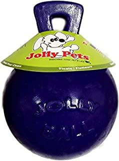 Jolly Pets Tug-N-Toss Ball Color: Purple, Size: 8