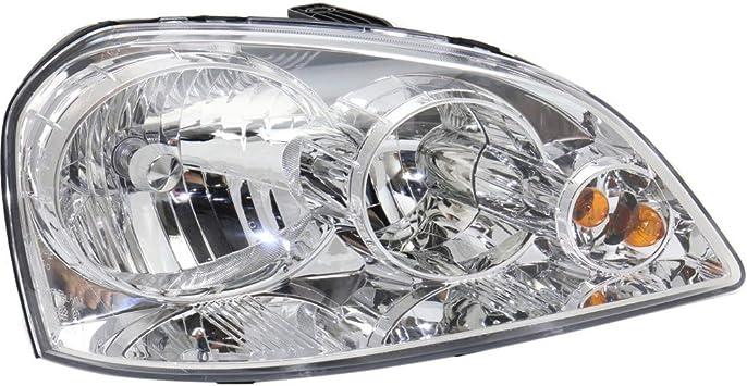 2005 Suzuki Forenza Sedan Post Mount Spotlight Larson Electronics 1015P9IXFIG 6 inch 100W Halogen Driver Side with Install kit -Chrome