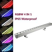 TC-Home 18 LED RGBW Waterproof IP65 180W Wall Washer Bar Light DMX 512 DJ Party Disco Stage Lighting Digital Display (4 IN 1)