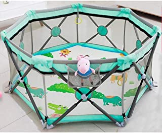 Teppichks Baby Indoor Game Crawling Mat Fence Baby Fence Children Home Toddler Folding Safety Fence