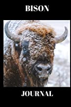 Bison Journal: Stunning picture of a Bison on a journal/Notebook/Diary to write in, draw in or doodle in. Will make a nice gift for farmers, animal lovers and kids