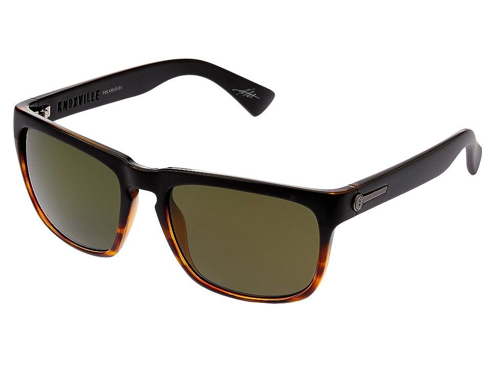 Electric Eyewear Knoxville Polarized (Darkside Tortoise/OHM Polarized Grey) Sport Sunglasses