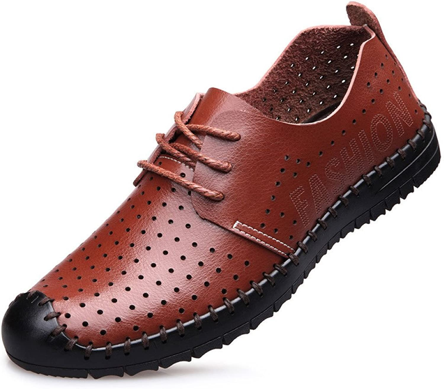 Men's shoes Crash-Proof Casual Hollow Stylish Breathable Lace-up