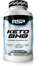 RSP Keto Pills - Exogenous Ketones 2400mg goBHB, Support Ketosis, Boost Energy, Enhance Focus, Perfect Keto Weight Management Capsules, Beta-Hydroxybutyrate BHB Salts