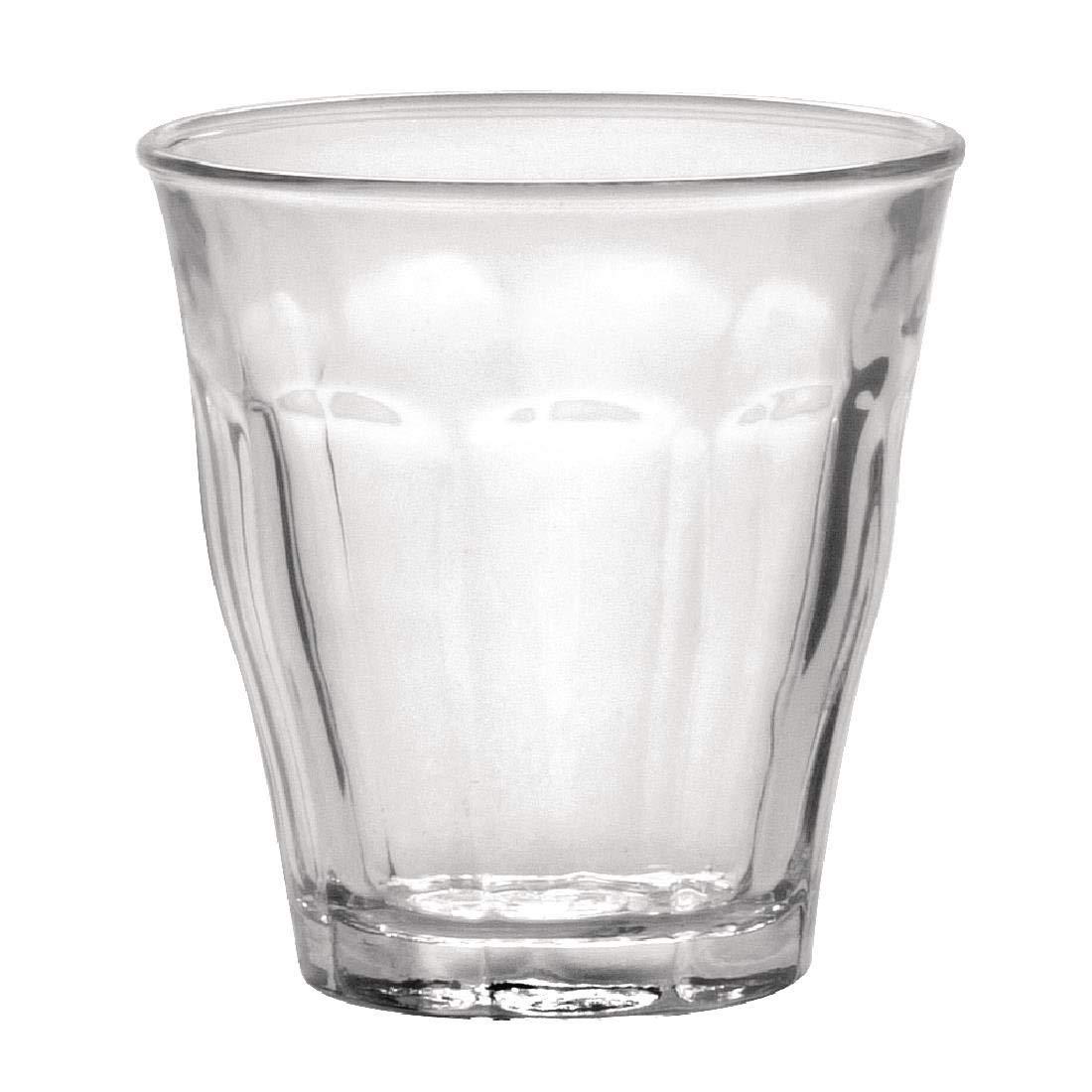 Paquete de: 6 vasos Duralex Picardie 90 ml.
