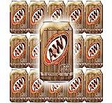 Cerveja de raiz A&W, lata de 12 fl Oz, ...
