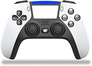 $49 » YTKJ for Playstation 4 Controller Wireless, 1000mAh Rechargeable Battery Wireless Controller, Game Controller with Dual Vi...