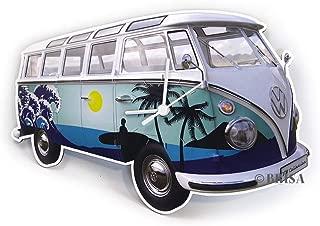 BRISA VW Collection VW T1 Bus Wall Clock 28x18x2,5cm - Surf