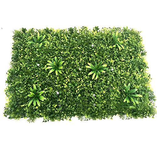 Künstliche Pflanze Rasenwand, Emulational Ivy Künstliche Hecke Blatt Rebe Privatsphäre Zaun Zaun Bildschirm Rollen Roll Landschaftsbau Fake Turf Pflanze Wand Hintergrund für Dekorationen Garten Zaun