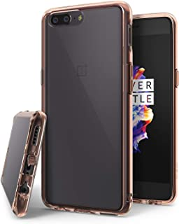 Ringke Fusion Compatible with Oneplus 5 Case Crystal Clear PC Back TPU Bumper Drop Protection, Shock Absorption Technology...