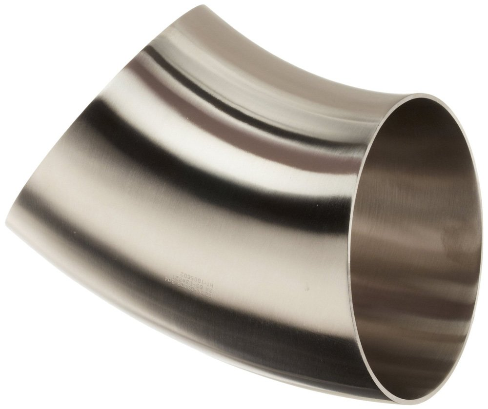 Steel and Obrien 2WK-6-1-304 Stainless Weld Over Max 65% OFF item handling 45 Degre Short