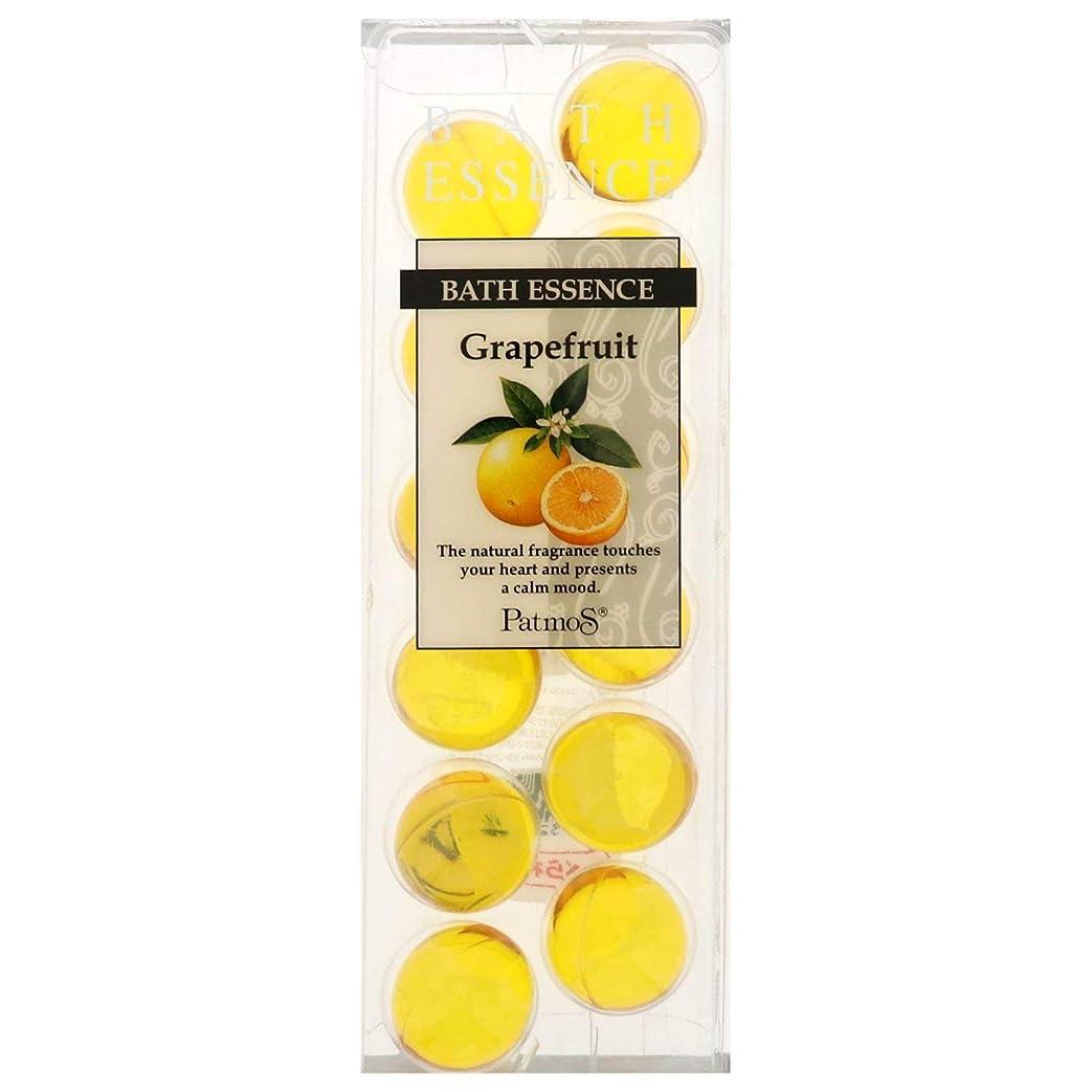 セットするラボ尊敬するパトモス バスエッセンス 12P グレープフルーツ