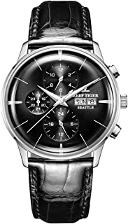 Reef Tiger Luxury Fashion Watches for Men Multifunction Mechanical Watch with Date Day RGA1699