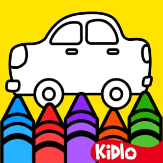 Kidlo Coloring Games for Kids and Drawing Book for Toddlers