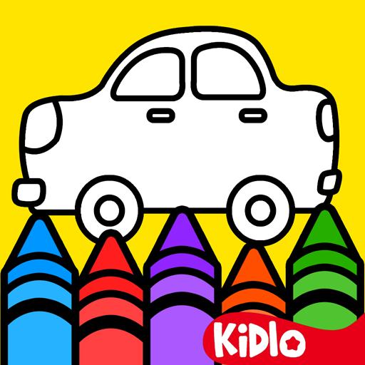 Jeux Coloriage pour les Enfants - Bébé Dessin Livre pour les filles et garçons, Apprendre dessine, couleur et peinture: Jeux de couleur par numéro