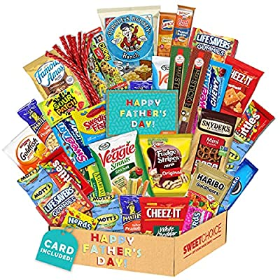 Fathers Day Gift Basket Gift For Dad Care Packa...