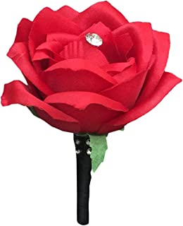Best boutonniere red and black Reviews