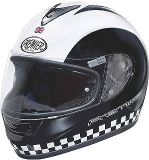 Premier Casco de moto TROPHY FL CHROMED, Chrome, XL