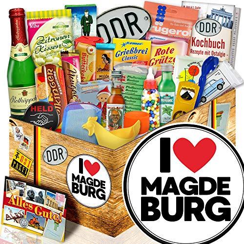 I love Magdeburg / Geschenkidee Ostalgie / Magdeburg Geschenk