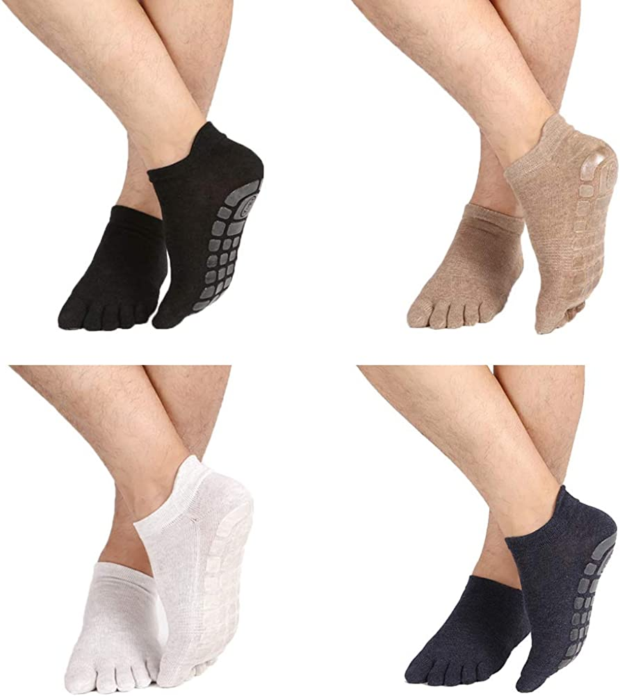 Anti-smell Keep-clean Yoga Pilates Socks Fashionable Max 69% OFF Slip Gri Barre Skid Non