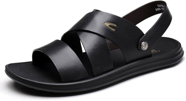 LEDLFIE Summer Sandals Men Breathable Sandals Non-Slip Beach Men's shoes