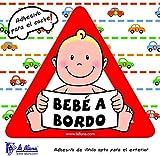 Detalles Infantiles - Bebé a bordo niño. triángulo adhesivo para el coche