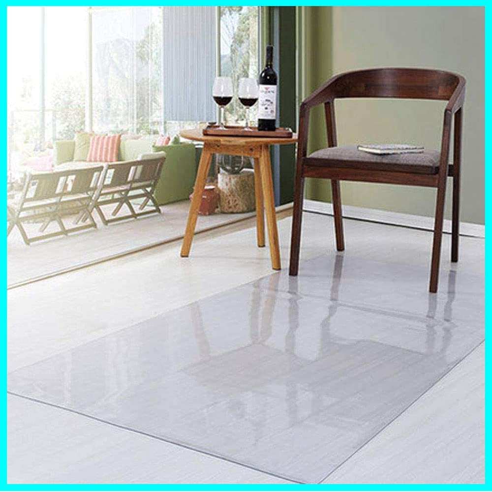 PVC Furniture Max 52% OFF Protector Mat Transparent Des Protection Mats for Mail order cheap
