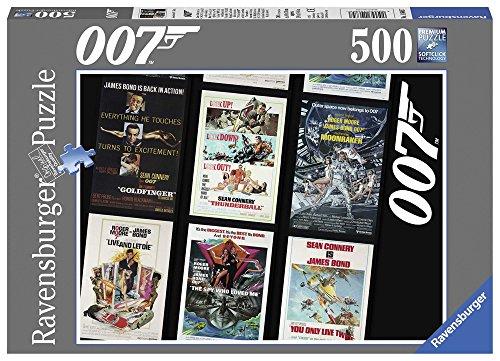 Ravensburger - 14685 - Puzzle James Bond 007 Retro - 500 pièces