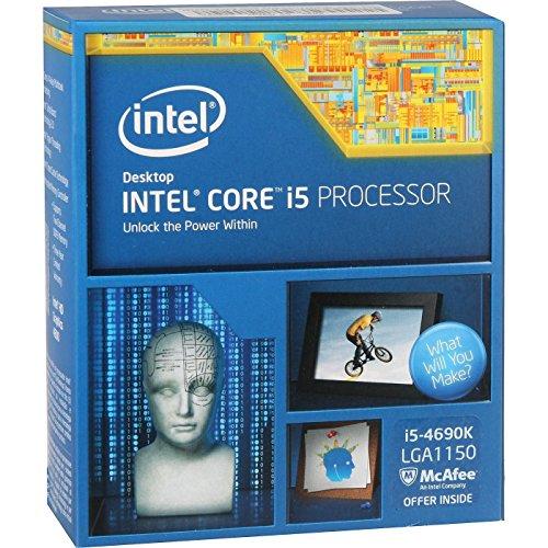 Intel Core i5- 4690k procesador Quad-Core - 3.50GHz, Socket 1150, 6 MB de caché, 88 vatios