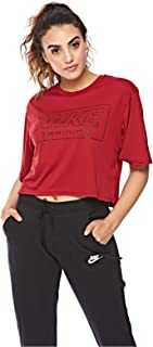 Nike Cropped Short Sleeve Training Top for Women