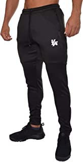Track Pants Men Workout Athletic Joggers Training Tapered Gym 205