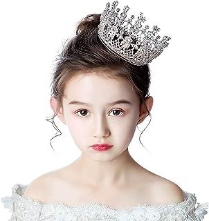 RKY Ragazze Corona, Bambini Fascia Crystal Crown Copricapo Principessa Girl Corona Bambino Regalo di Compleanno Accessori ...
