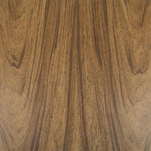 Klebefolie Perfect Fix® Eiche Dunkel Dekofolie Möbelfolie Tapeten selbstklebende Folie, PVC, ohne Phthalate, keine Luftblasen, Natur-Holzoptik, 45cm x 2m, Stärke: 0,15 mm, Venilia 53332