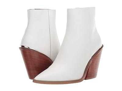 Steve Madden Charleen Bootie (White Leather) Women