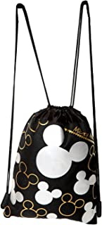 Disney Mickey Mouse Silver Drawstring Backpack