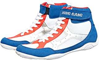 Men's Boxing Shoes Fighting Gym Trainers Lightweight Breathable Anti-Skid Indoor Squat Fitness Sneakers