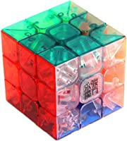 Tollbuy Speed Cube 3x3 Stickerless Magic Puzzle Transparent