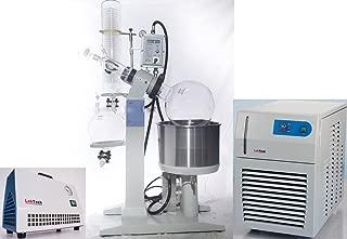 Explosion Proof 20L Rotary Evaporator Bundle - Includes 2100 Watt Low Temperature Chiller and Solvent Resistant Vacuum Pump