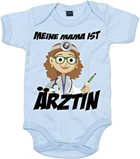 """Shirt Happenz Mama""""s Beruf Ist €rztin Mamis Kleiner Engel Bodysuit Babybody Babyeinteiler Oeko-TEX ¨ 100 Standard"""