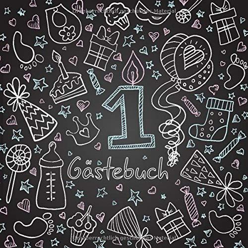 Gästebuch: Erinnerung an den ersten Geburtstag