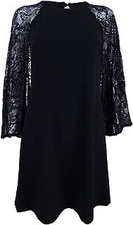 Womens Capelet Lace Cocktail Dress