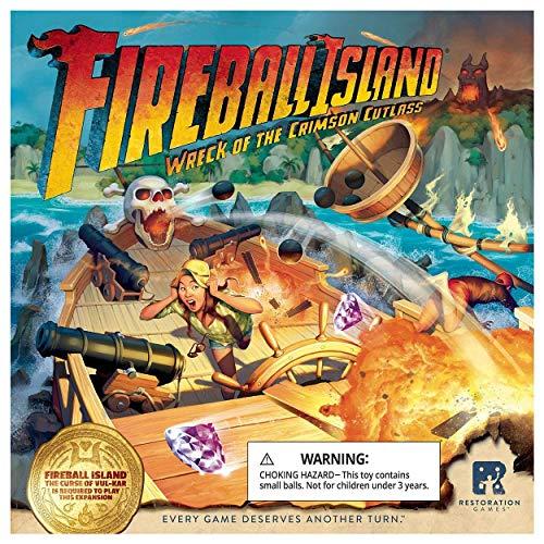 RESTORATION GAMES Fireball Island: Wreck of The Crimson Cutlass