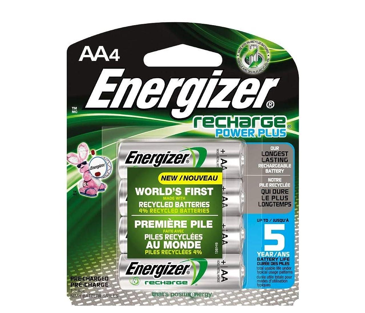 4 x AA Energizer Recharge NH15BP NiMH 2300 mAh Batteries (Low Discharge)