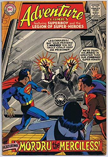 Adventure Comics #369 Superboy ORIGINAL Vintage 1968 DC Comics Mordru