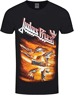 Judas Priest Men's Firepower Slim Fit T-Shirt Black