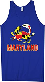 Men's Maryland State Flag Crab Emblem Tank Top
