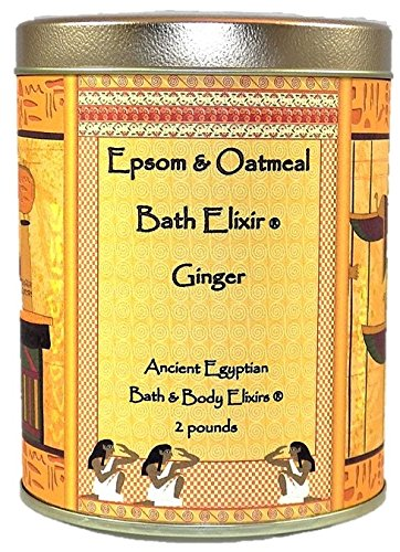 Epsom & Oatmeal Bath Elixir Ginger Fragrance