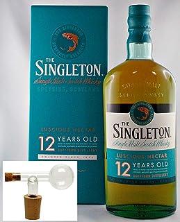 The Singleton of Dufftown 12 Jahre Whisky  1 Glaskugelportionierer