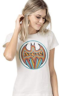 Camiseta Feminina Batman Colorful