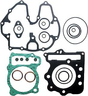 KIPA Complete Top End Head Gasket Kit For Honda TRX400EX TRX 400EX Sportrax 400 1999-2008 Honda TRX400X TRX 400X 2009-2014 Cylinder Piston Head Engine Repair Non-Asbestors